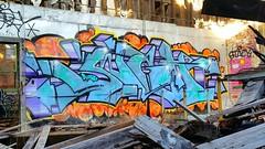 SIGH (BLACK VOMIT) Tags: wall graffiti ol south dirty richmond dos va sigh rva dirtyolsouth