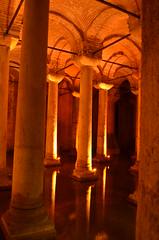 Underground Cistern (Chrissy Olson) Tags: travel turkey asia europe istanbul bazaar turkish tanzaniaipad