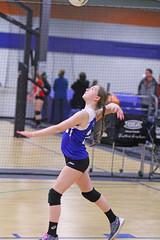 IMG_0417 (SJH Foto) Tags: school girls black club de high team teen teenager volleyball delaware juniors tween burst mode serve