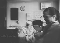 Aubrie... (austinsGG) Tags: bw baby birth babygirl mythreesonsimages