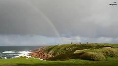 ... (Leo ) Tags: winter sea sky rain arcoiris mar video lluvia rainbow corua galicia cielo arcoris invierno arcobaleno regenbogen corunna pelangi  torredehrcules  regnbge gkkua  curcubeu   cuvng