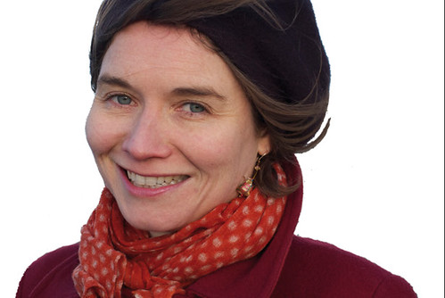 Ingrid Thobois, écrivain en résidence en 2015 © Romain Thobois