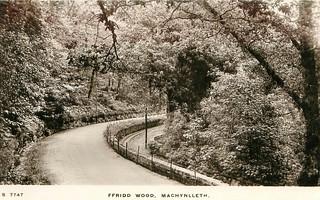 Corris Railway (old postcard)