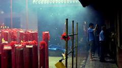 Gerimis Hujan di Wihara (AGUSRAHARJO) Tags: pray jakarta dharma imlek vihara kuil bhakti ibadah sakti sembahyang berdoa
