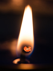 The flower inside the flame (HollyWoodward2015) Tags: macro candles flames macros