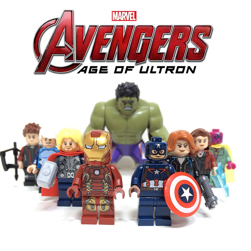 how to make lego avengers