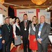 Showtel Mary Murphy, Paul O'Riordan, Glen Taafe with the CWS-boco team and Stephen McNally, IHF President