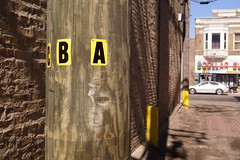 monkey face (drew*in*chicago) Tags: streetart chicago art graffiti mural paint artist cityscape tag spray painter 2015