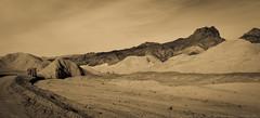 Twenty Mule Team Canyon, Death Valley NP (julesnene) Tags: california road ca travel nature landscape nationalpark unitedstates desert canyon mines area destination deathvalley oneway gypsum blackmountains borax furnacecreek badland deathvalleynationalpark unpaved twentymuleteamcanyon 20muleteamcanyon canonef70200mmf4lusmlens julesnene juliasumangil canon7dmarkii canon7dmark2