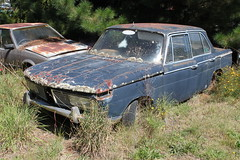 BMW 2000 (jeremyg3030) Tags: new cars abandoned yard junk 2000 class bmw neue klasse wrecking cooma flynns