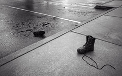 two lost boots