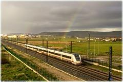 Rainbow (440_502) Tags: madrid media valladolid universidad len 449 002 distancia renfe viajeros chamartn operadora