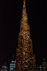Dubai 20 April 2016 (BaggieWeave) Tags: dubai uae unitedarabemirates lightshow burjkhalifa