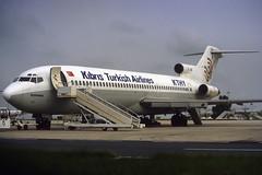 KTHY Kibris Turkish Airlines B727-2F2 TC-JBG CDG 11/06/1995 (jordi757) Tags: paris airplanes boeing cdg avions 727 b727 b727200 lfpg kthy tcjbg