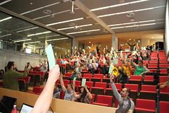 Asamblea General 2016 Som Energia (Som Energia) Tags: general votar cooperativa asamblea votaciones cooperativismo somag2016