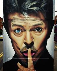 The Bowie street art in Stevenson Square. (Waka Jawaka) Tags: david square manchester graffiti bowie mural stevenson quarter northern