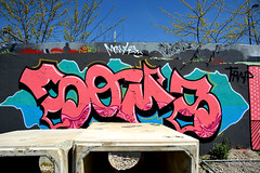 graffiti utrecht (wojofoto) Tags: holland graffiti utrecht nederland netherland hof grindbak soms wolfgangjosten wojofoto