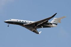 Private Gulfstream G650 N1F (jbp274) Tags: airport airplanes lax gulfstream bizjet klax g650