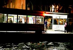 All the World's Futures (kirstiecat) Tags: venice people italy night evening italia stranger future venise venezia watertaxi tourisits beautifulstrangers