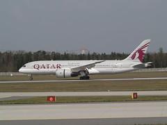 Qatar (uwe_gompf_66) Tags: boeing dreamliner qatar a7bcu flughafen fraport frankfurtmain 25r