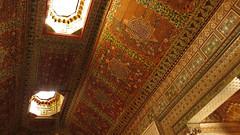 Bahia Palace Ceiling (macloo) Tags: architecture design morocco moorish marrakech decor bahiapalace