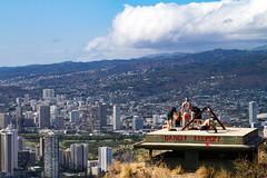 IMG_4115 (The.Rohit) Tags: travel vacation mountain beach nature landscape hawaii coast waikiki oahu hiking hill hike explore crater vista honolulu aloha leahi hikingtrail diamondheadcrater diamondheadstatemonument diamondheadsummittrail
