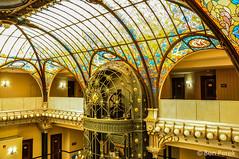 Gran Hotel Ciudad de Mexico (Ben Perek Photography) Tags: art window glass de mexico hotel df style ciudad ceiling stained gran nouveau zocalo