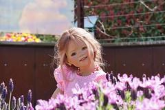 Anne-Moni ... (Kindergartenkinder) Tags: kindergartenkinder gruga park essen sony ilce6000 annette himstedt dolls personen annemoni lavendel