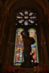 Montserrat Monastery (HDH.Lucas) Tags: light window spain cathedral stainedglass lucas monastery montserrat