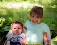 Donia and Aziz-3 (lilnjn) Tags: family people 4months aziz donia