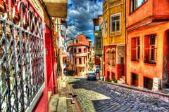 Colorfull Balat (Halil Sopaoğlu HN I Photography) Tags: road street old travel sky cloud color skyline canon buildings landscape photography alley flickr bright outdoor colorfull istanbul hdr balat kadraj citycape canonphotography oldistanbul canondsrl monfrotto hdrcity canon1635mmf28liiusm canoneos6d hdristanbul istanbulfotoğrafları istanbulium halil2016
