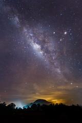 Milkyway at Mersing Malaysia (BP Chua) Tags: travel night stars landscape nikon wideangle galaxy malaysia mersing milkyway d3s