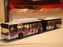 MAJORETTE MAN LION'S CITY G. ARTICULATED BUS NO2 MUSIC HALL 1/64 (ambassador84 OVER 5 MILLION VIEWS. :-)) Tags: man bus majorette diecast articulatedbus manlionscitygbus