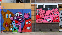 Lastplak (oerendhard1) Tags: urban streetart art graffiti boat rotterdam kat die das edo rath lastplak nol oxalien boomgaardhof stoog