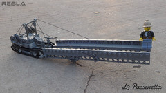 L3 Passerella (bridge layer) (Rebla) Tags: bridge scale italian lego layer 135 l3 passerella tankette rebla