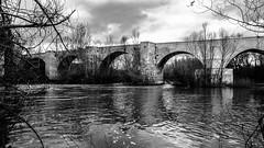 Puente Duero Antiguo (Juaberna) Tags: bridge blanco architecture puente arquitectura nikon y negro d610 2485mm vrii