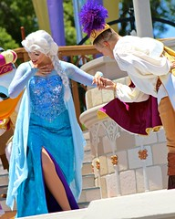Dancing Queen (jordanhall81) Tags: world show park lake castle look amusement dance orlando friendship dancing florida live stage character magic royal kingdom fair disney resort queen entertainment vista theme cinderella wdw walt performer elsa mk alike buena mickeys lbv mrff