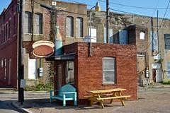Burger Bar (Rob Sneed) Tags: brick sign architecture vintage bottle construction downtown texas historic retro hamburger cocacola cleburne countyseat johnsoncounty designatedhistoriclandmark anglinst johnsoncountyhistoricalcommission