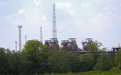 Industrial spring-2 (algimantas_tirlikas) Tags: chimney tree landscape spring may pipeline rafinery