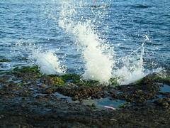 Breaking Wave (_roberta ricciardi) Tags: breakingwave pozzuoli blue sea waves ocean italy summes naples mare