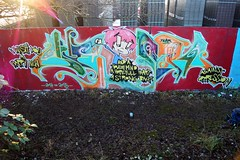 New Year (blum seltsam) Tags: nonamewriting writing streetart graffity kiel germany rare sylvester