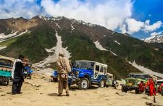 Dare devils (imtiazchaudhry) Tags: travel terrain drive dangerous jeeps 4x4 bumpy tourists modified rides steep gradients