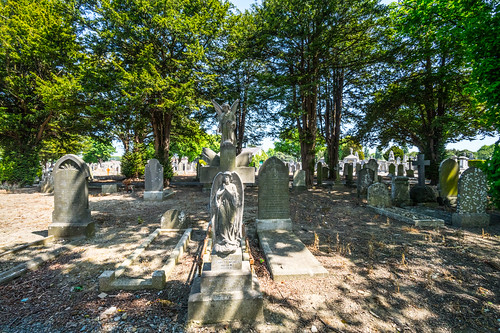 MOUNT JEROME CEMETERY AND CREMATORIUM IN HAROLD'S CROSS [SONY A7RM2 WITH VOIGTLANDER 15mm LENS]-117107
