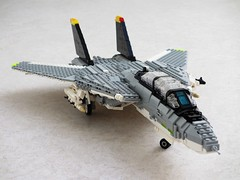 Yet another Tomcat update, 11th of June (Mad physicist) Tags: fighter lego f14 workinprogress jet wip tomcat grumman