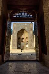 Mir-i-Arab Madrasa (Stefano Cislaghi) Tags: uzbekistan bukhara madrassah madrasah