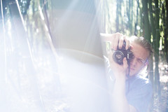 Lights On (B l u e A i r) Tags: madrid light espaa primavera luz nature beauty forest 35mm garden trenes spring spain nikon prince bamboo fisheye redhead bosque prncipe fullframe 8mm bamb jardn d800 aranjuez