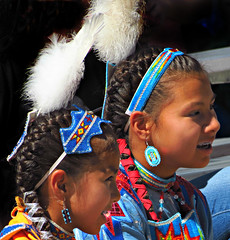 Native American Girls (Colorado Sands) Tags: child people children nativeamerican powwow indian americanindians indiantime nativedress denver colorado regalia traditions dancecontests costumes americanindian acomaplaza cultural indians intertribal gathering usa friendshippowwow heritage indianculture celebration nativeamericans tribaldress america denverartmuseumfriendshippowwow americanindianculturalcelebration sandraleidholdt americans sandyleidholdt september72013 2013 dancers girls