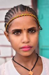 Ashenda Girl, Ethiopia (Rod Waddington) Tags: africa portrait people girl beauty face festival female child cross african afrika christianity braids ethiopia ethnic orthodox ethnicity afrique ethiopian thiopien etiopia ethiopie etiopian tigray adigrat ashenda