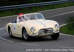 DSC_6593 - Maserati 150 GT - 1957 - Mohringer Andreas (pietroz) Tags: silver photo foto photos flag historic fotos pietro storico zoccola 21 storiche vernasca pietroz