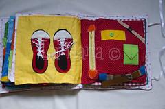 Quiet Book (7) (La Nana Handmade *Fabiola*) Tags: quiet book busy attivit children baby fabric activity sensory sensoriale preschooer asilo scuola materna